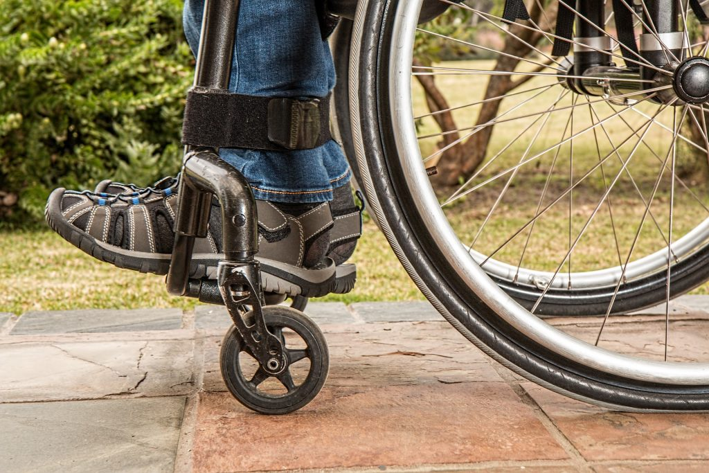 discapacidad fisica